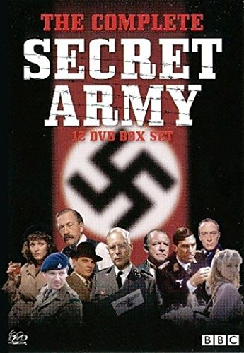 Secret Army - The Complete Collection - BBC Series 1, 2 & 3 [12 DVD Box Set]