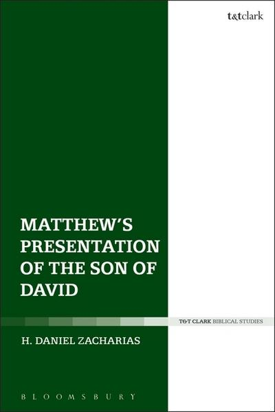 Matthew's Presentation of the Son of David