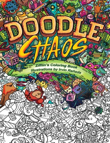 Doodle Chaos: Zifflin's Coloring Book: Volume 3