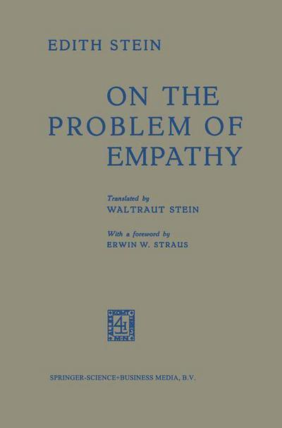 Stein, E. on the Problem of Empathy