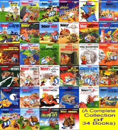 Asterix Complete Collection Boxset by Rene Goscinny, ISBN: 9789350092903