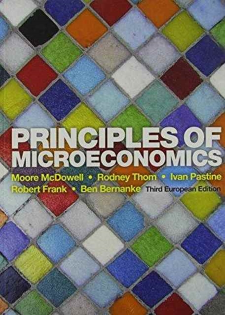 Principles of Microeconomics by Mcdowell, ISBN: 9780077143336