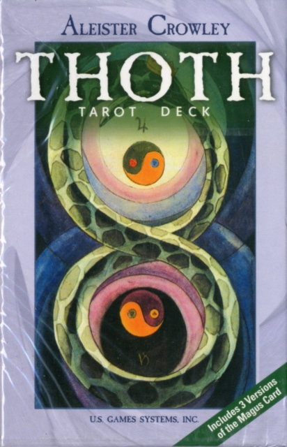 Thoth Tarot Deck: 78-Card Tarot Deck by Gerd Ziegler, ISBN: 9780880793087