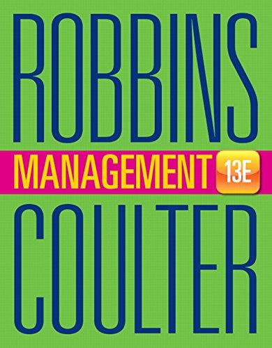 Management Plus Mymanagementlab with Pearson Etext -- Access Card Package by Stephen P. Robbins, ISBN: 9780133973006