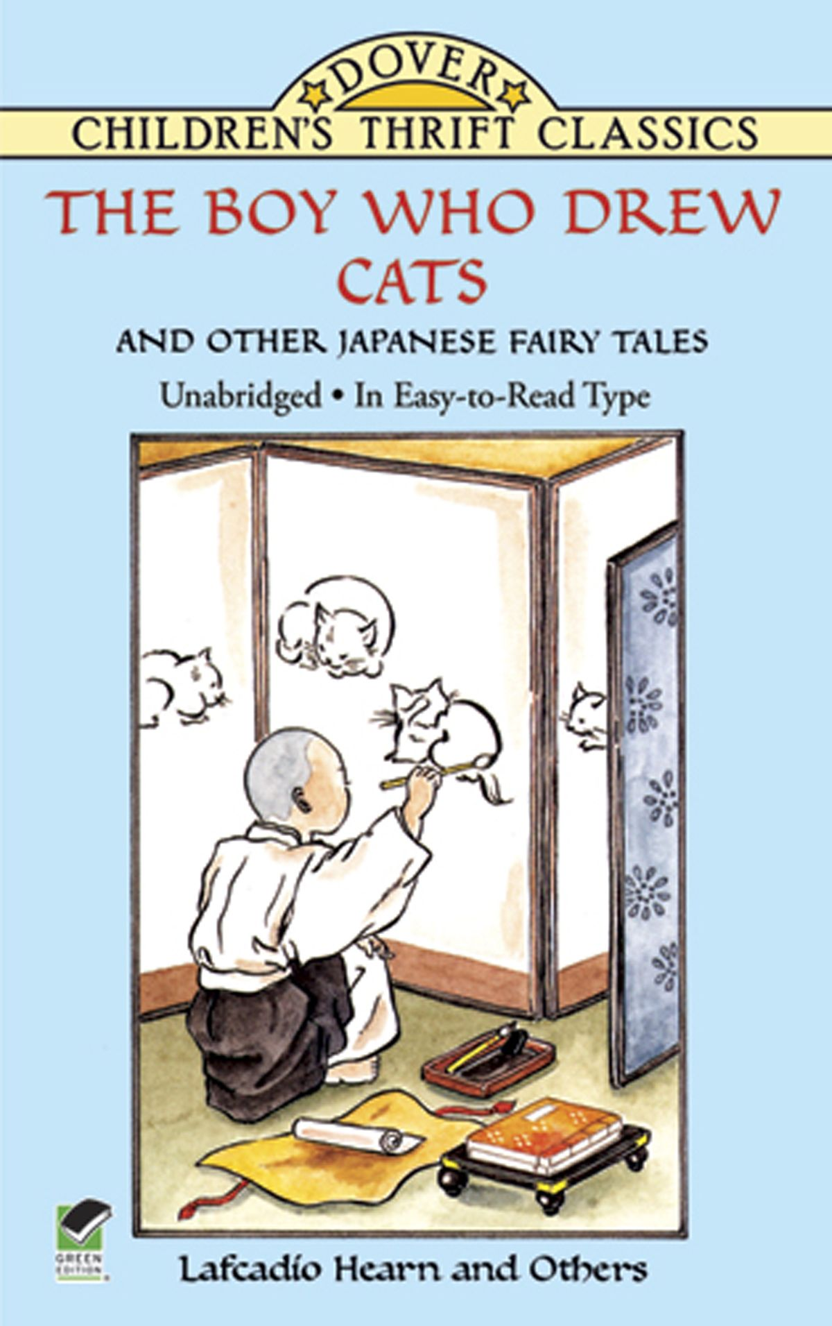 """""""The Boy Who Drew Cats"""" and Other Japanese Fairy Tales by L. Hearn, ISBN: 9780486159546"""