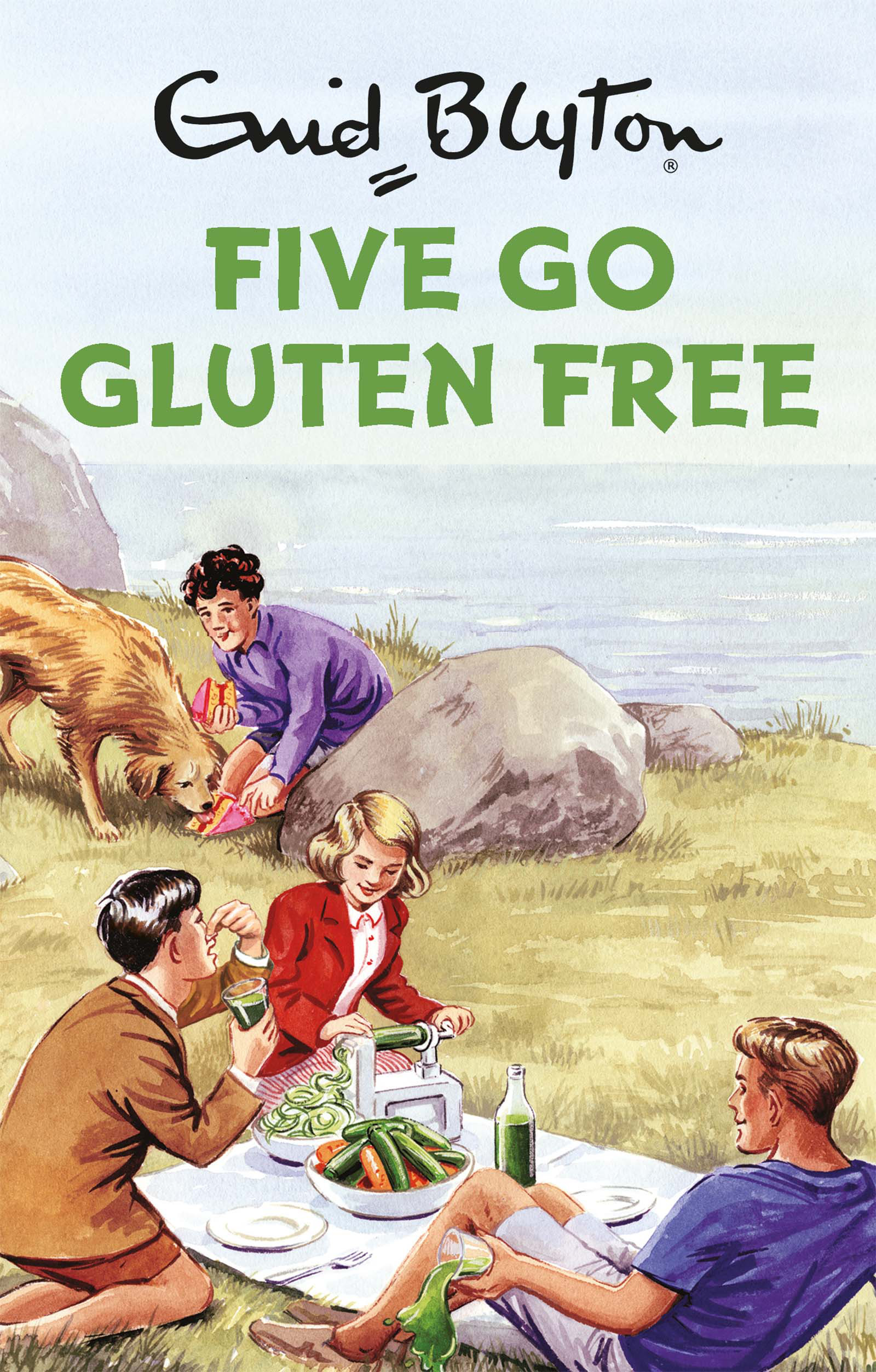 Five Go Gluten-Free (Enid Blyton for Grown Ups) by Bruno Vincent, ISBN: 9781786482228