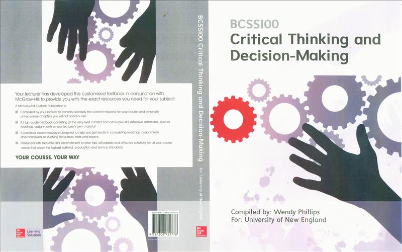 BCSS100 Critical Thinking and Decision-Making