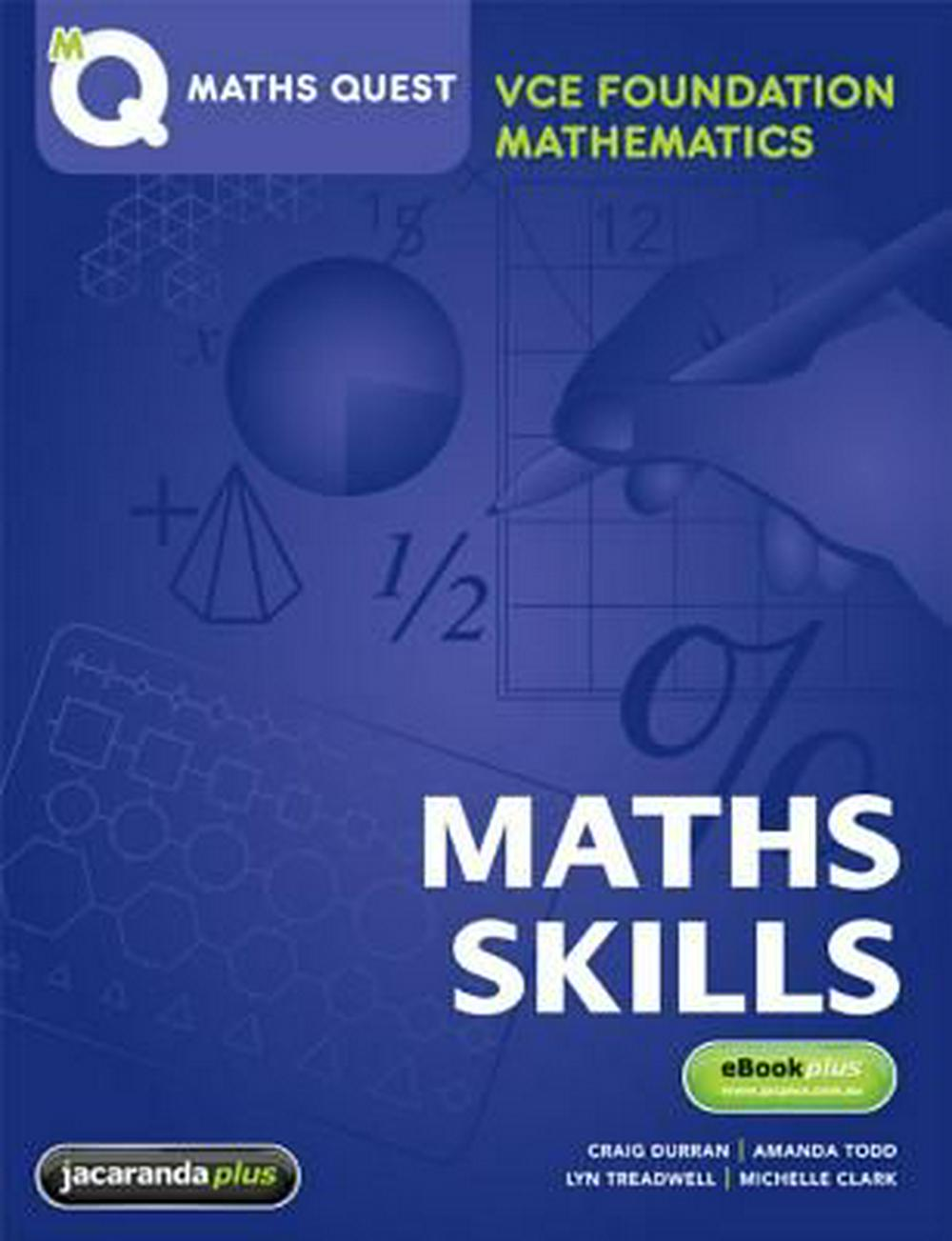 Maths Quest VCE Foundation Mathematics by Jacaranda, ISBN: 9781742160931