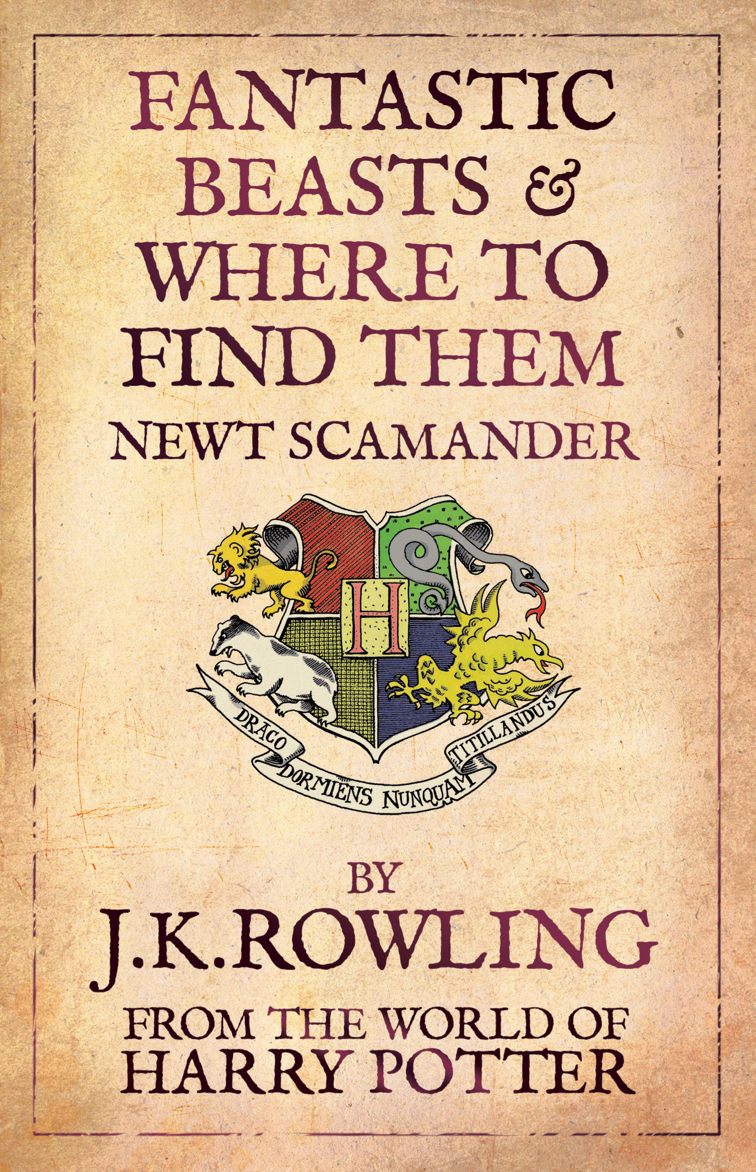 Fantastic Beasts & Where to Find Them by J.K. Rowling, ISBN: 9781408803011