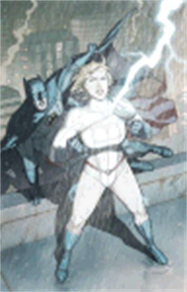 Power Girl: Old Friends