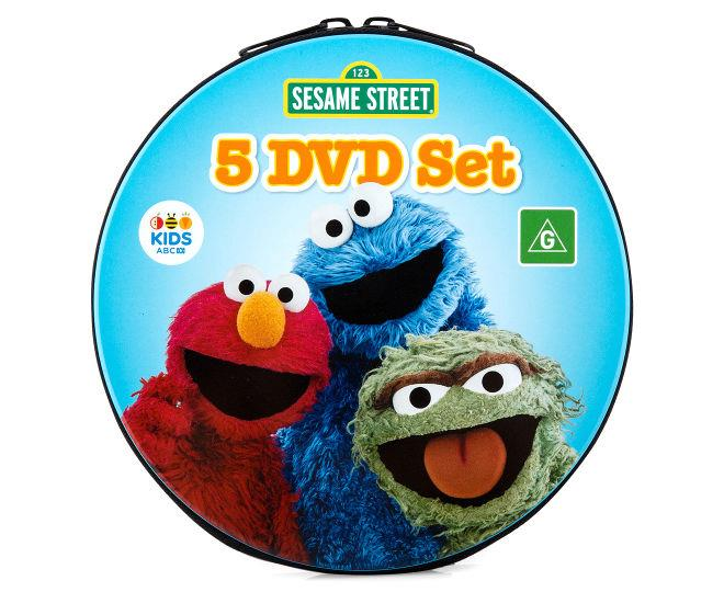 Sesame Street 5-DVD Collection