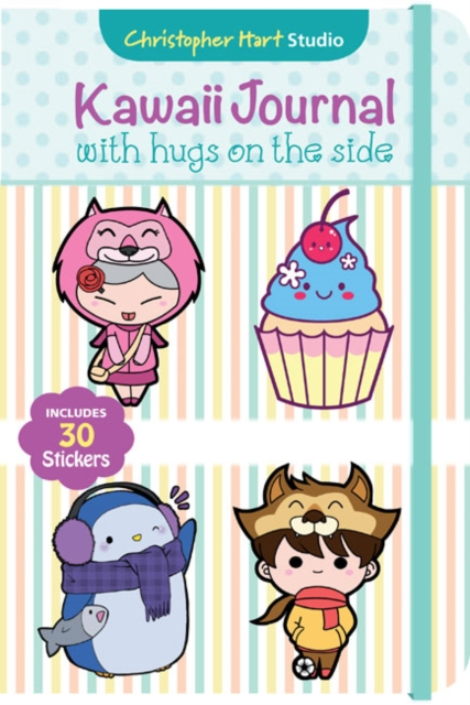 Kawaii Journal with Hugs on the SideSupercute Manga Journal