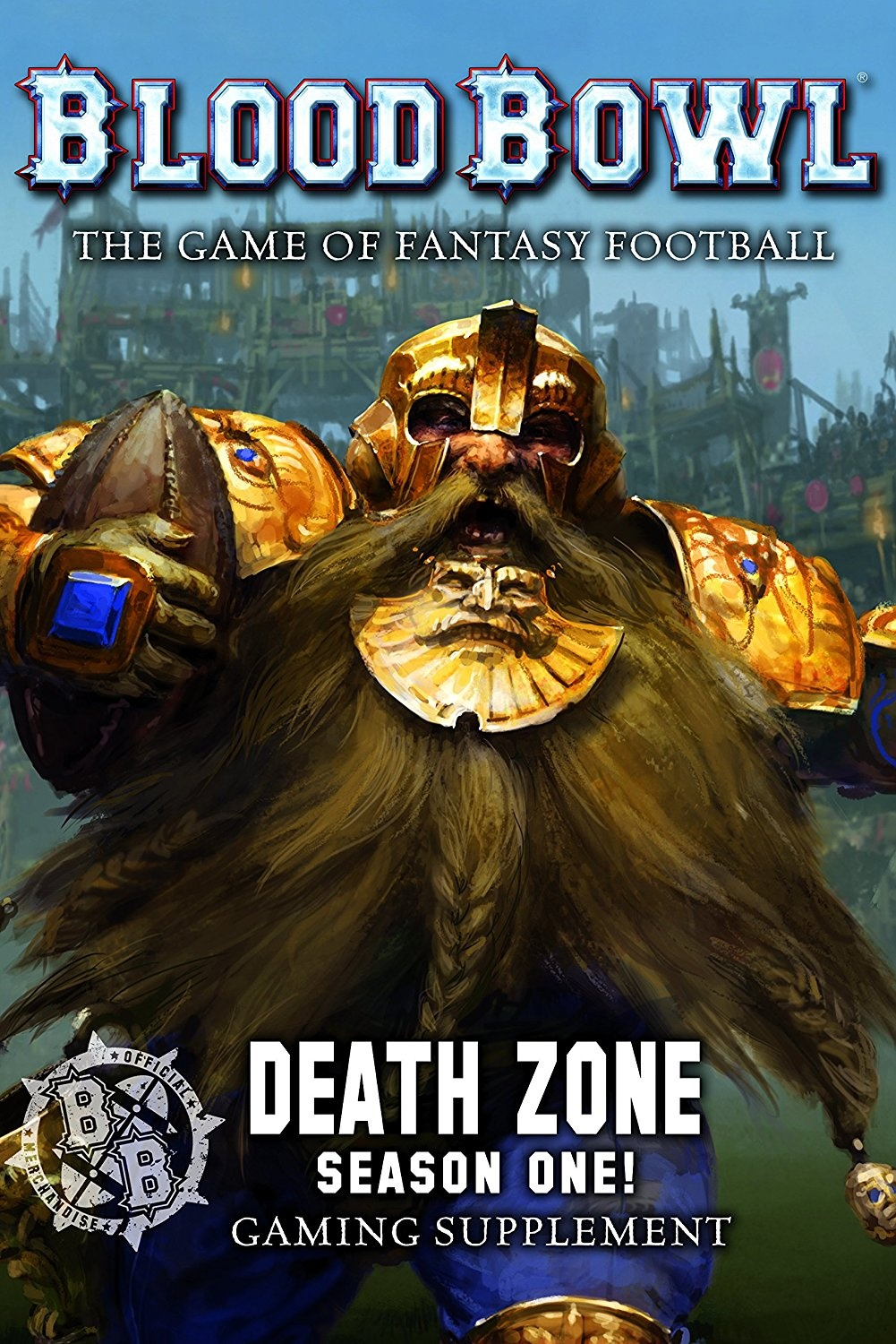Death Zone: Season 1 Blood Bowl Rulebook ( 200-02-60 ) Games Workshop
