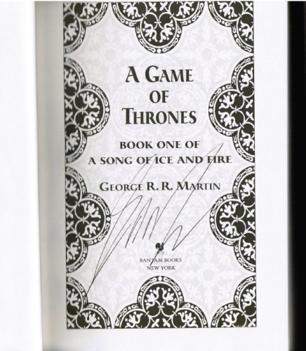 A Game of Thrones Deluxe Edition (A Song of Ice and Fire #1) (A Barnes and Noble Exclusive) by Martin, George R R, ISBN: 9780307292094