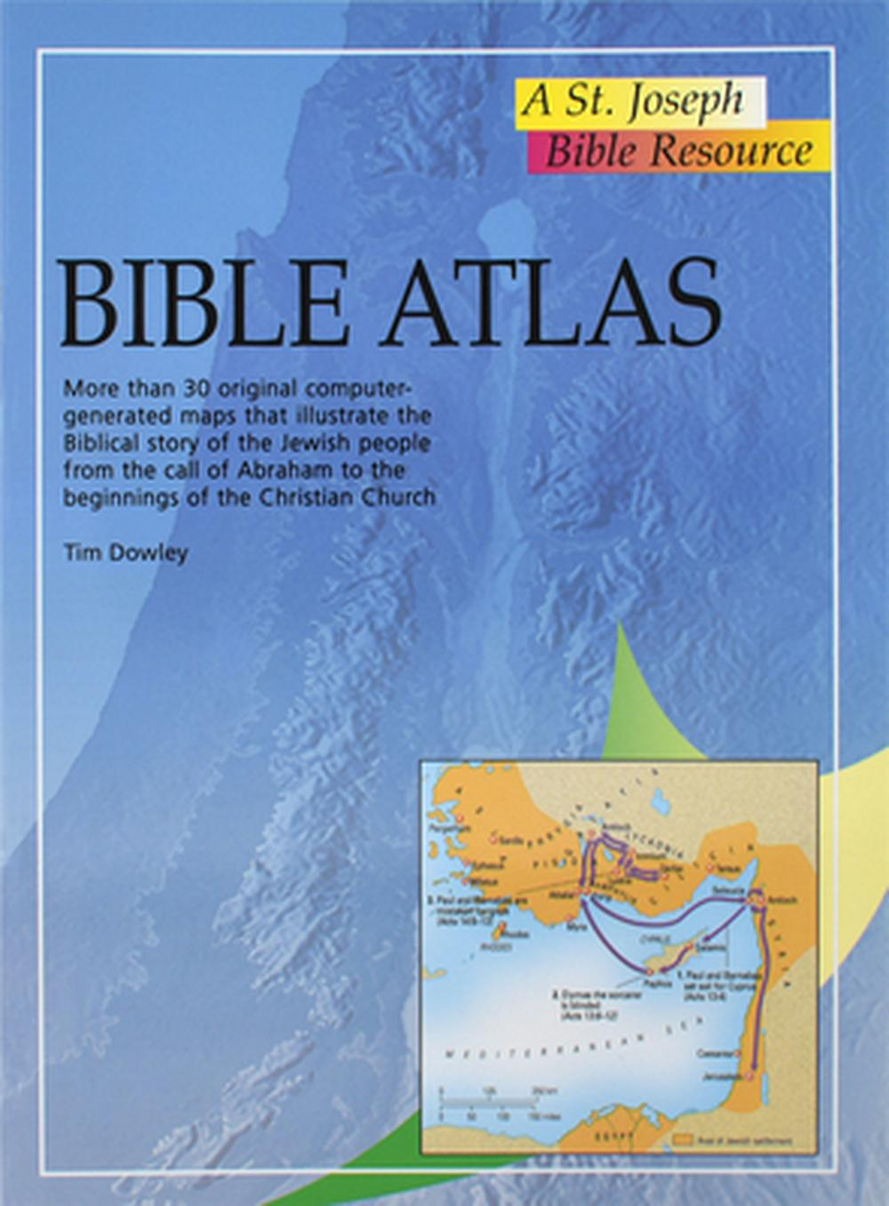 Bible Atlas by Tim Dowley, ISBN: 9780899426549
