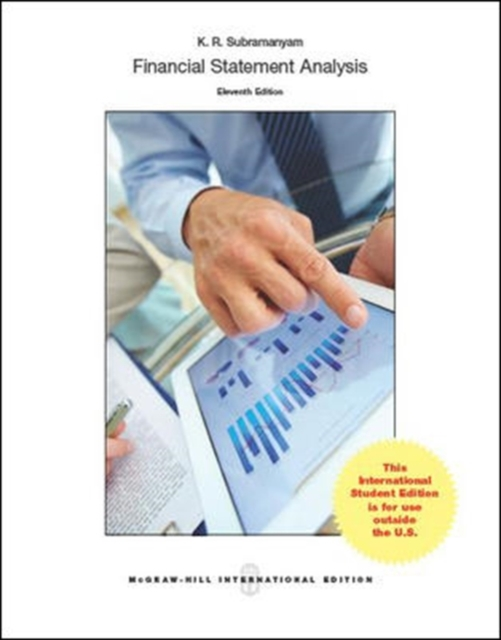 Financial Statement Analysis 11th Edition by K. R. Subramanyam and John Wild (2013, Hardcover)