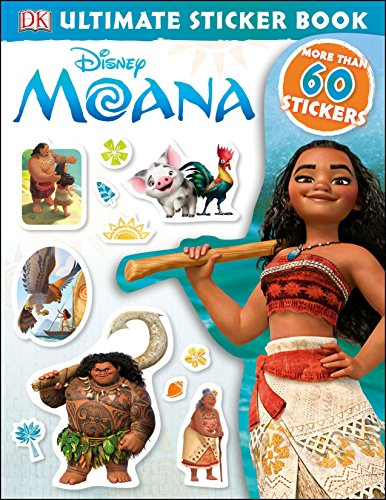 Disney MoanaUltimate Sticker Book