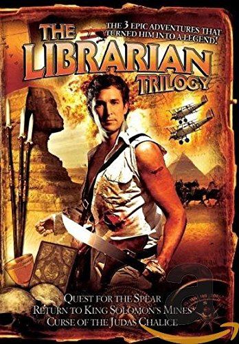 The Librarian Trilogy - 3-DVD Box Set ( The Librarian: Quest for the Spear / The Librarian: Return to King Solomon's Mines / The Librarian: The Curse of the Judas Chalice ) ( The Librarian / The Librarian II: Return to King Solomon's Mines