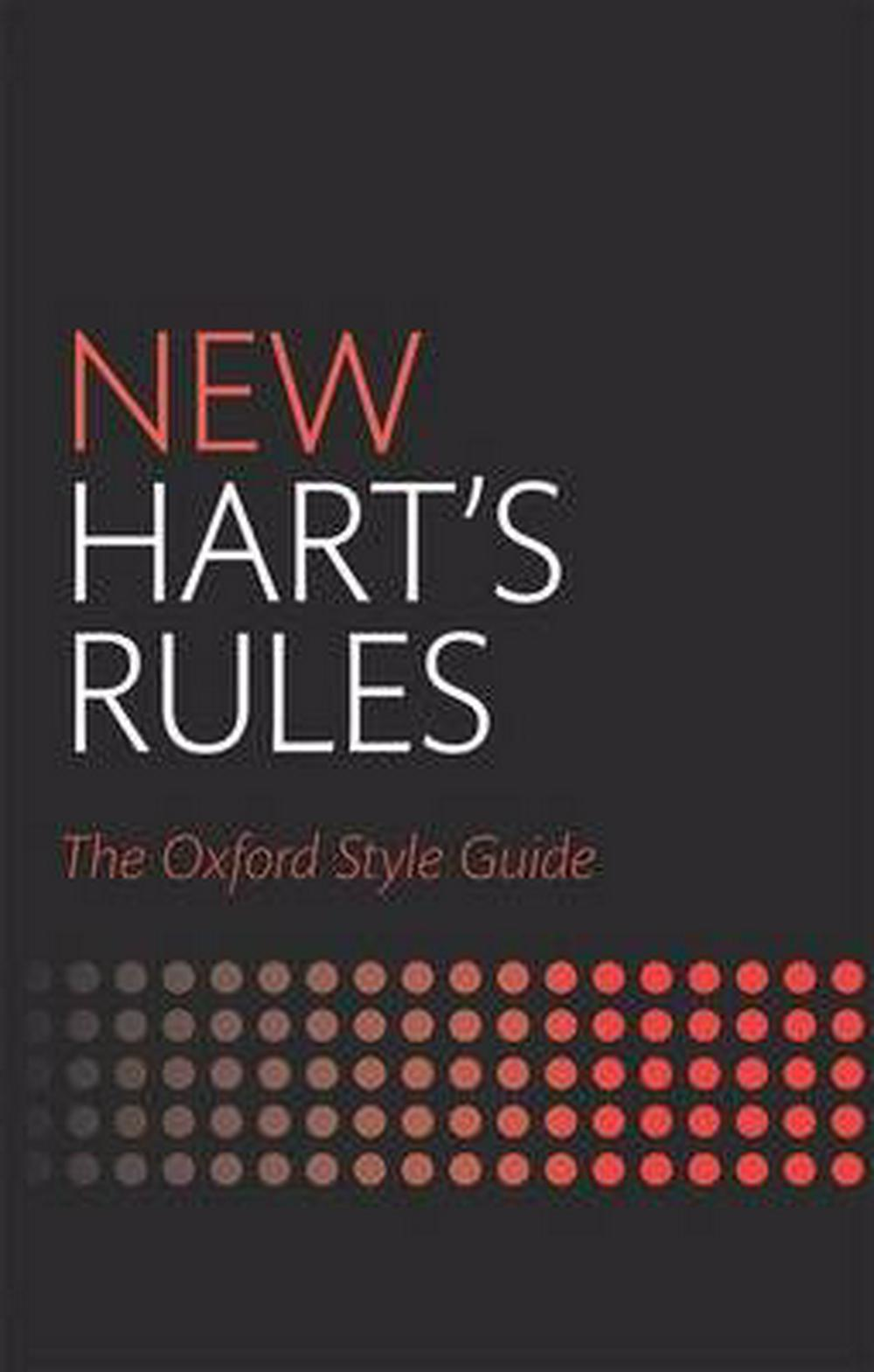 Amazon. Fr new hart's rules: the oxford style guide oxford.