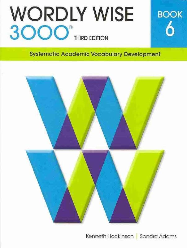 Wordly Wise 3000 Book 6 by Kenneth Hodkinson, ISBN: 9780838876060