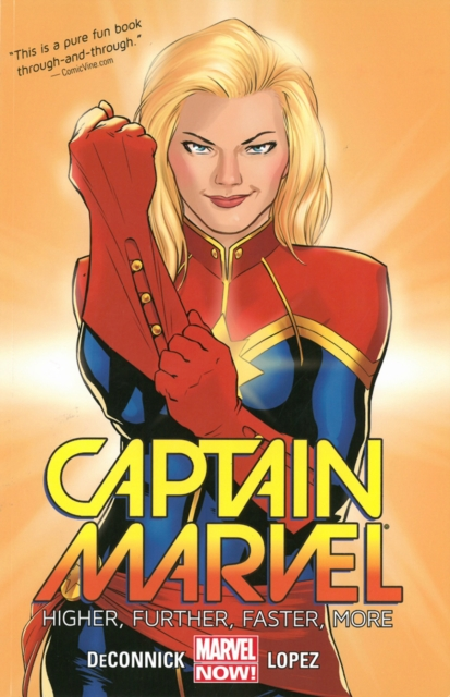 Captain Marvel Volume 1: Higher, Further, Faster, More by Marvel Comics, ISBN: 9780785190134