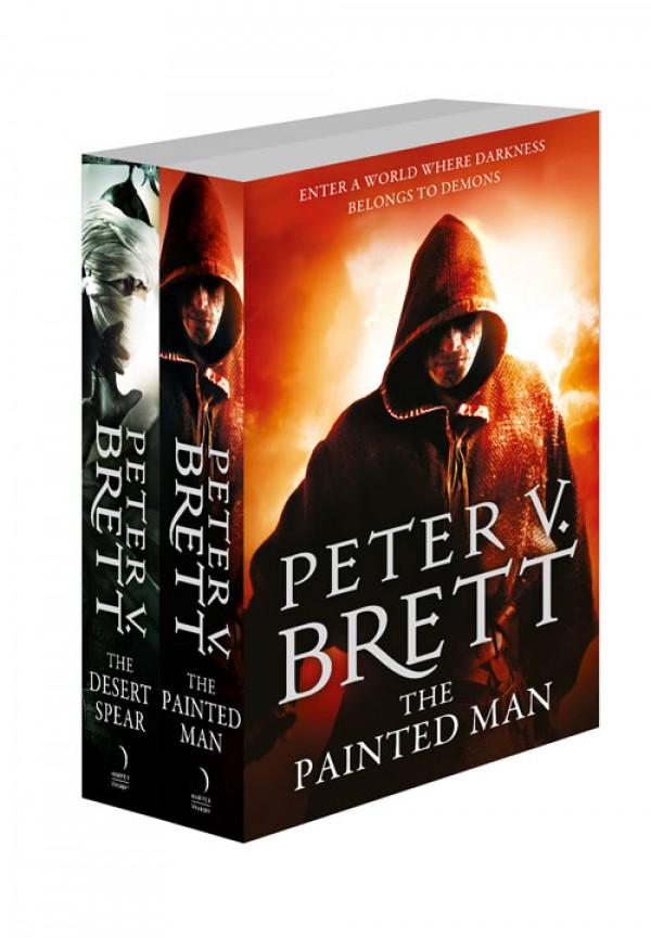 The Demon Cycle Series Books 1 and 2The Painted Man, The Desert Spear