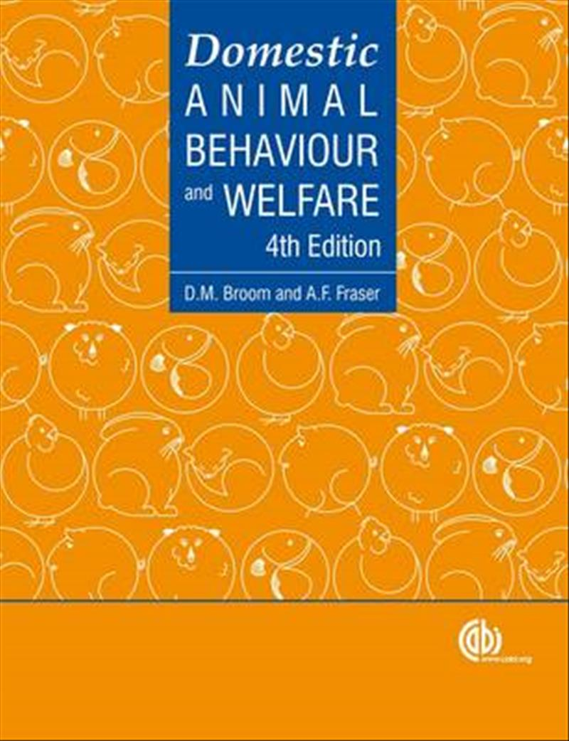 Domestic Animal Behavior and Welfare