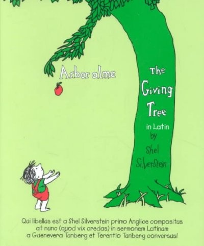 an arguement about the giving tree by shel silverstein After being cut down to a stump, a poetic soul inscribed shel silverstein's famous 'giving tree' verse on the remains of a former tree.