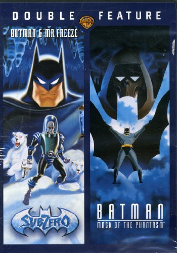 Double Feature (SubZero Batman & Mr Freeze) (Mask of the Phantasm Batman)