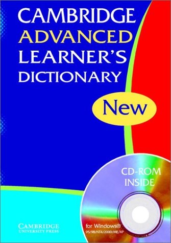 Cambridge Advanced Learner's Dictionary HB with CD-ROM by Cambridge University Press, ISBN: 9780521824231