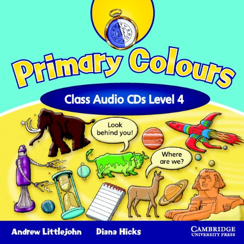 Primary Colours Level 4 Class Audio CDs: Level 4 (Primary Colours) [Audio]