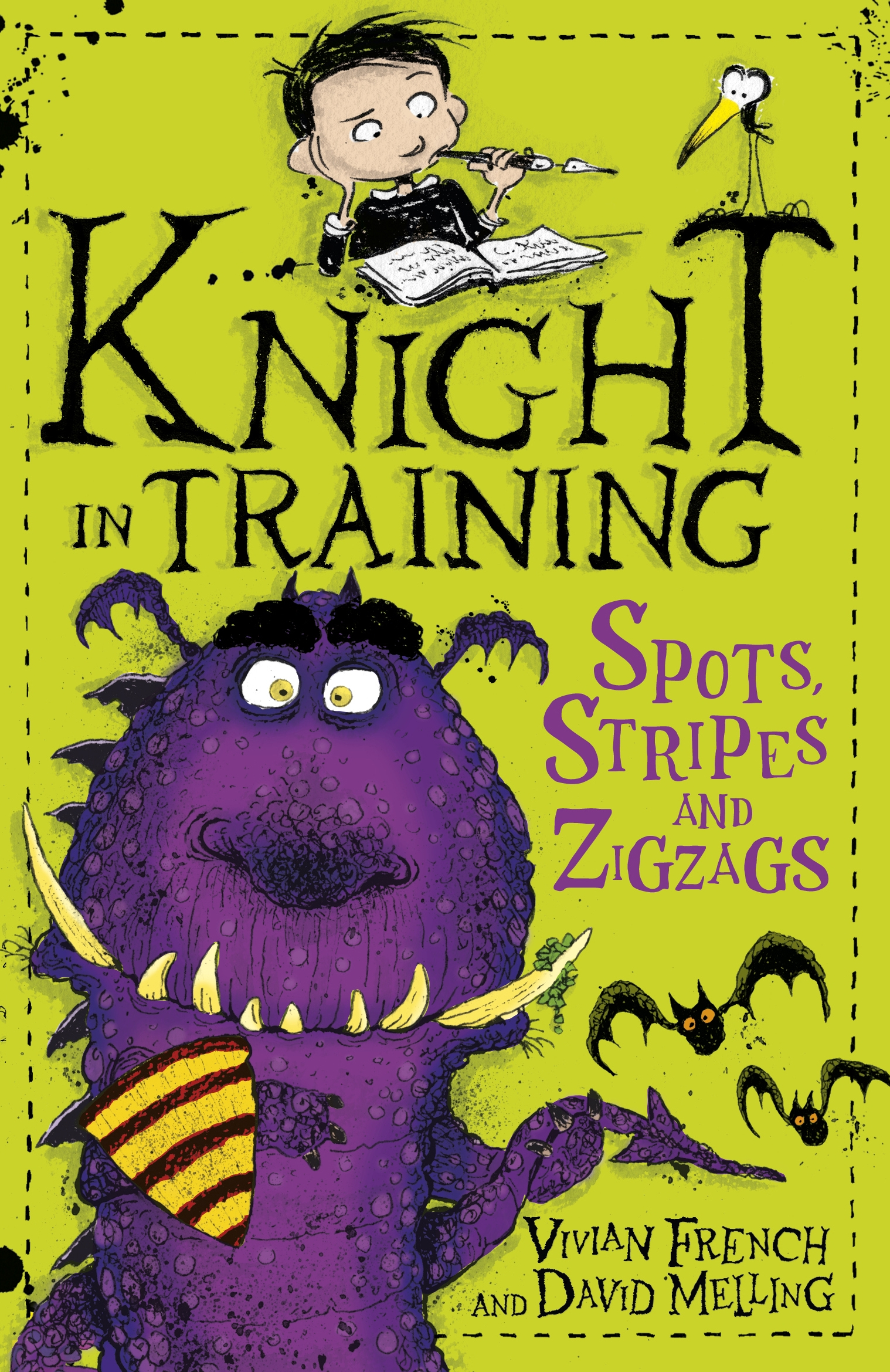 Knight in Training: 4: Spots, Stripes and Zigzags