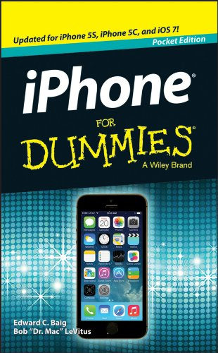 Iphone for Dummies by Edward C Baig, ISBN: 9781118744697