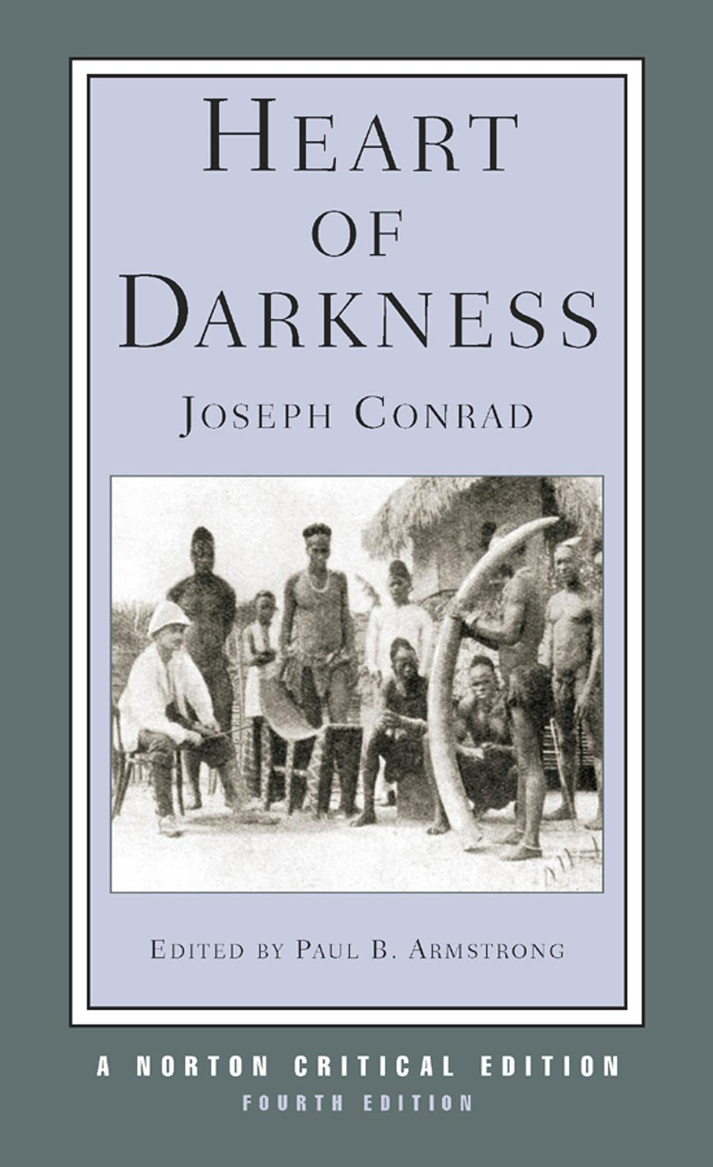 "a comparison between joseph conrads heart of darkness and george orwells 1984 A simile is a comparison between two unlike things using the words like or as joseph conrad, ""heart of darkness"") (eg george orwell's, 1984."