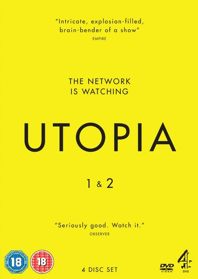 Utopia - Series 1-2 [DVD] by Unbranded, ISBN: 6867441054191