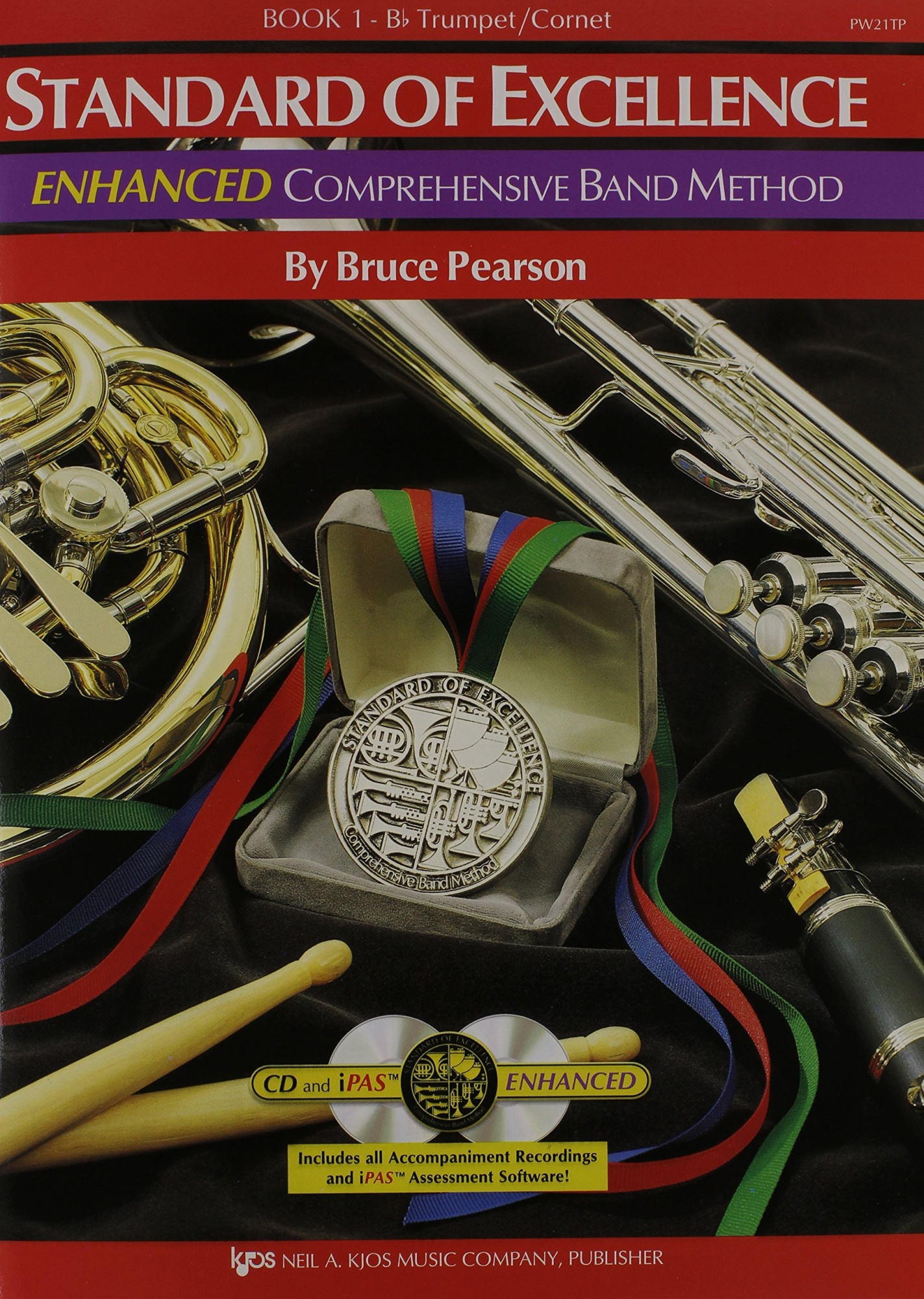PW21TP - Standard of Excellence Enhanced Book 1 Trumpet/Cornet