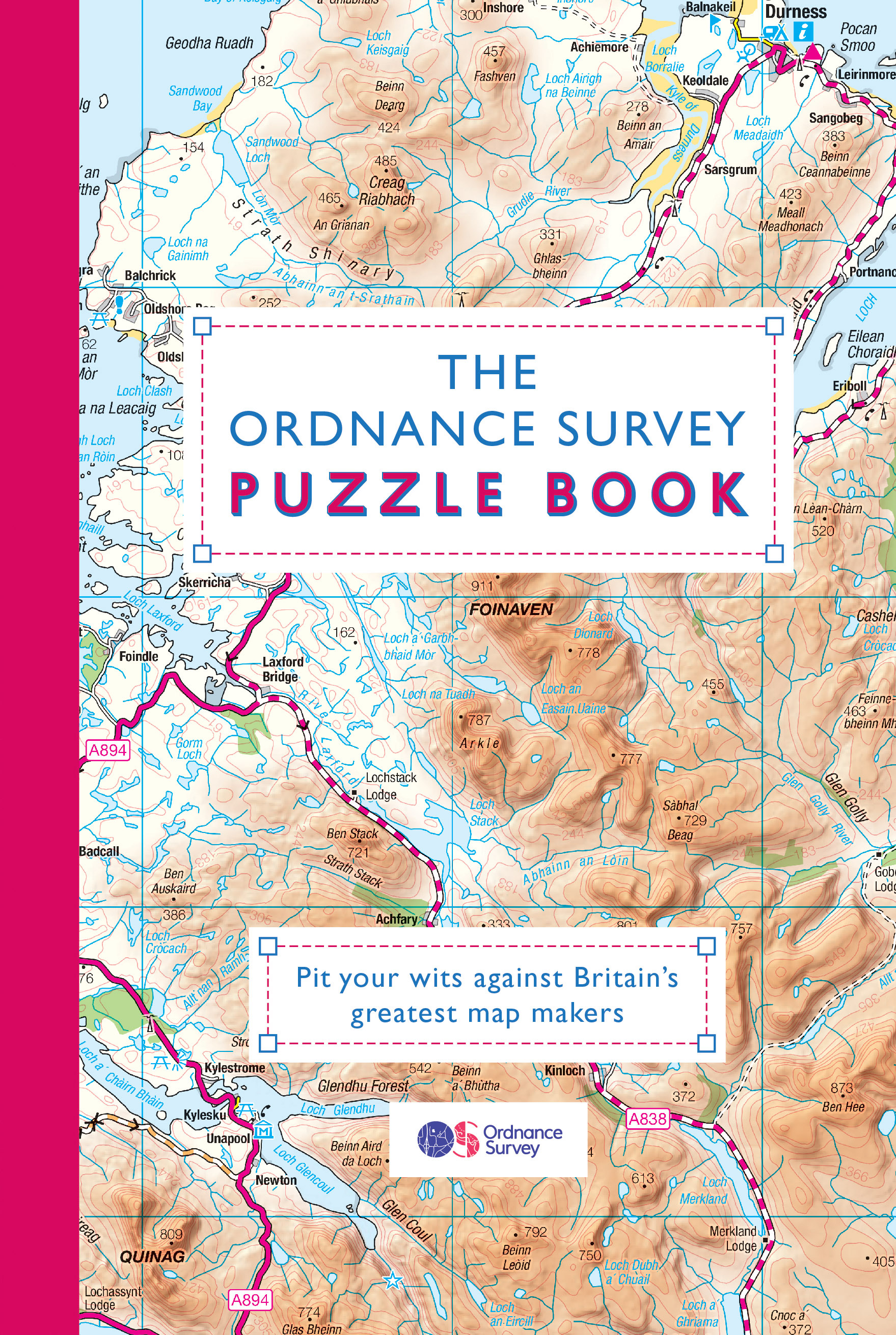 The Ordnance Survey Puzzle BookPit your wits against Britain's greatest map ma...