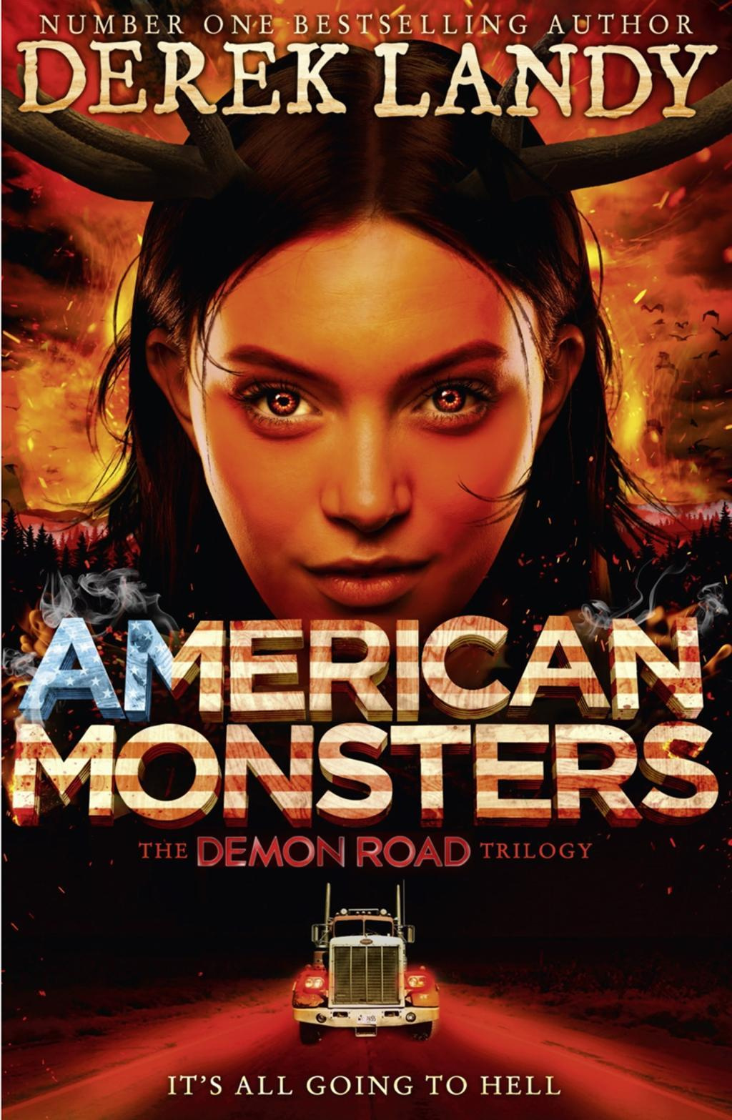 American Monsters (The Demon Road Trilogy, Book 3)