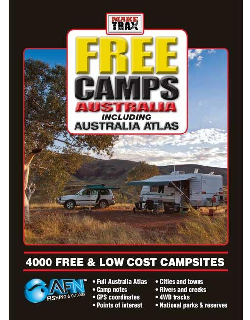 Make Trax Free Camps Australia Including Australia Atlas