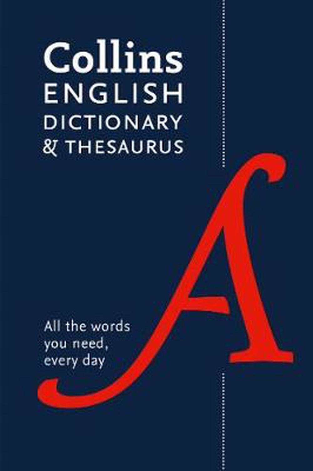 Collins English Dictionary and Thesaurus Paperback edition: All-in-one support for everyday use