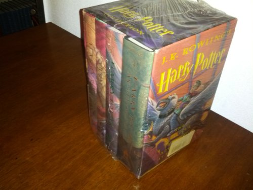 J. K. Rowling's Harry Potter: The First Four Thrilling Adventures at Hogwarts