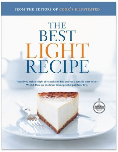 """Best Light Recipes by """"Cooks Illustrated"""" Magazine, ISBN: 9780936184975"""