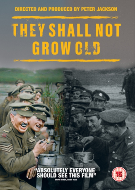 They Shall Not Grow Old [DVD] [2018] by Unbranded, ISBN: 5051892220729