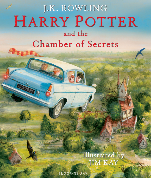 Harry Potter and the Chamber of Secrets (illustrated edition) by J K Rowling, ISBN: 9781408845653