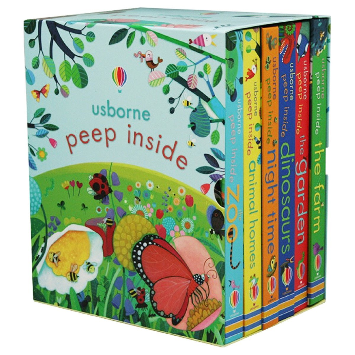 Usborne Peep Inside Box Set by Not Known, ISBN: 9781474927314