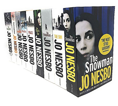 Jo Nesbo Harry Hole Thriller Collection 10 Books Set- (Police, The Bat, The Leopard, Phantom, The Devil's star, Cockroaches, The Snowman, The Redeemer, Nemesis, The Redbreast by Jo Nesbo, ISBN: 9788033642534