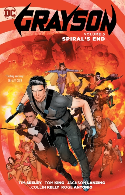 Grayson Vol. 5Spiral's End