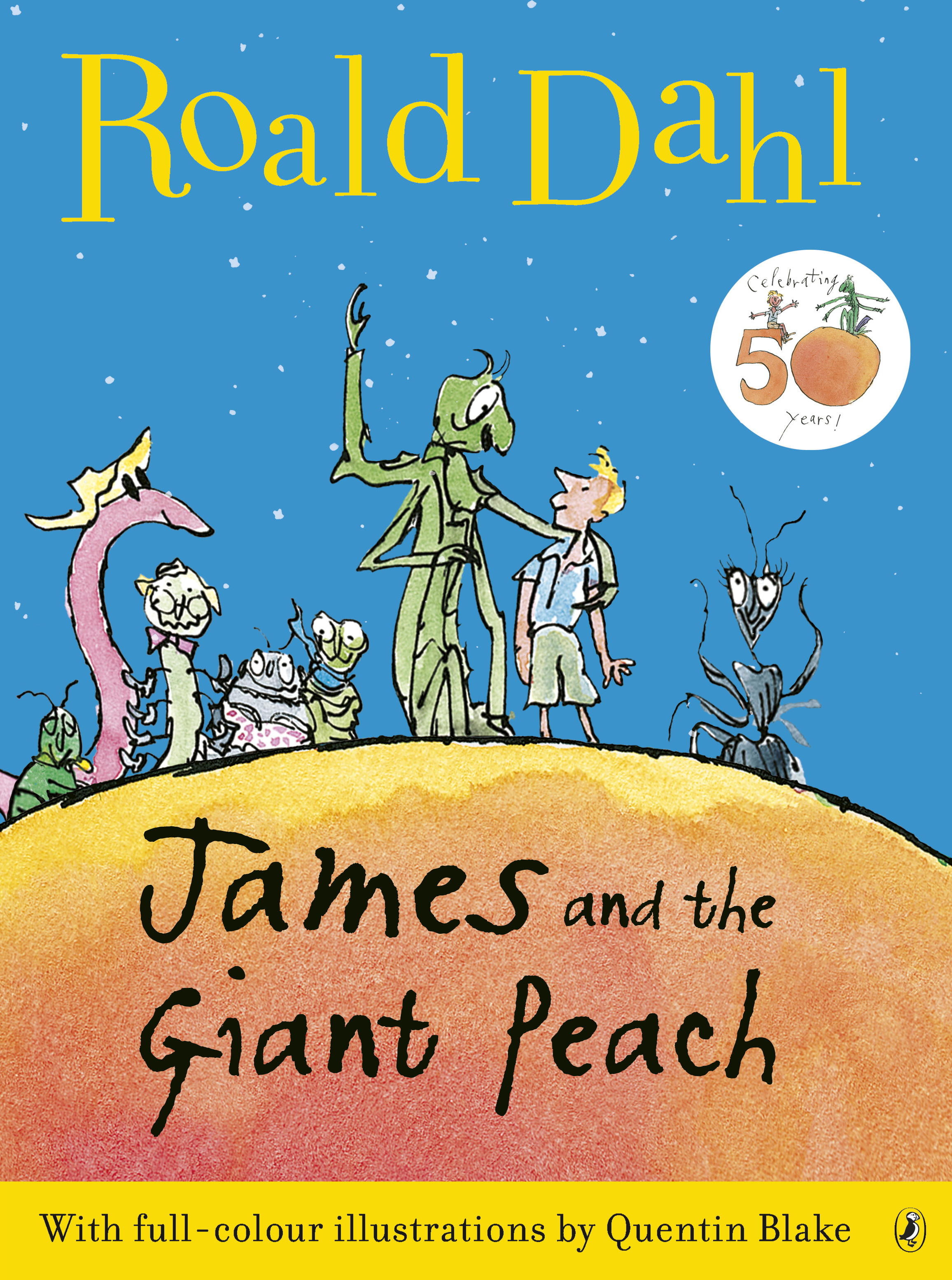 James and the Giant Peach: 50th Anniversary Colour Edition