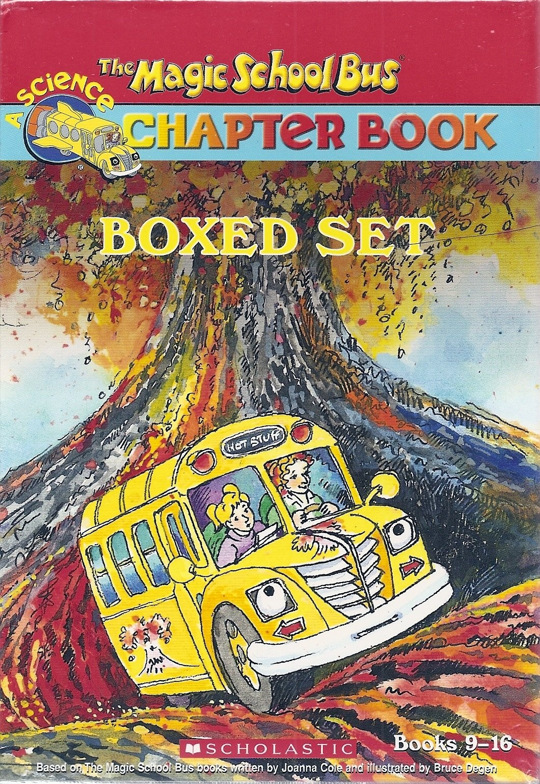 The Magic School Bus Chapter Book Boxed Set, Books 9-16 by Anne Capeci, Rebecca Carmi, Nancy Whit Judith Bauer Stamper, ISBN: 9780439688765
