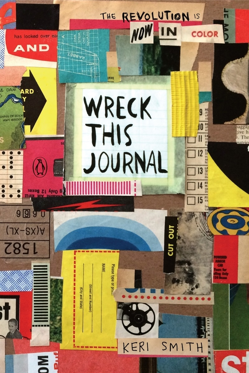 Wreck This Journal: Now in Colour by Keri Smith, ISBN: 9781846149504